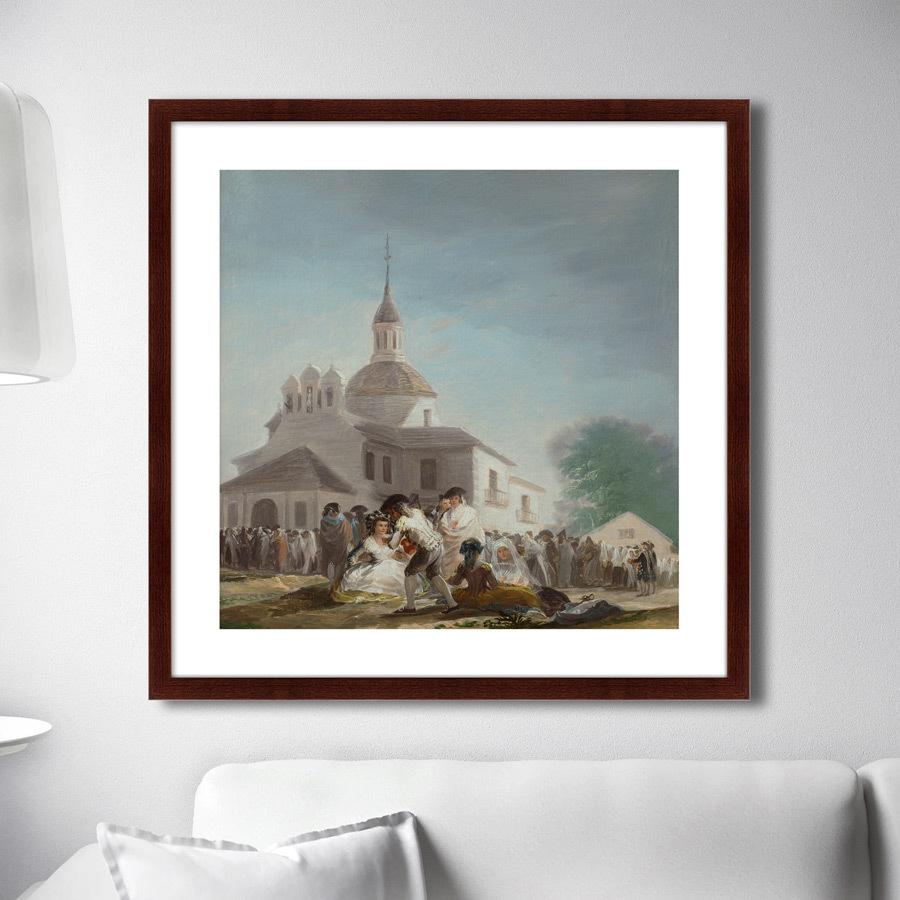 Картина Saint Isidore's Day At The Saint's Hermitage, 1799г. (79х79 см) фото