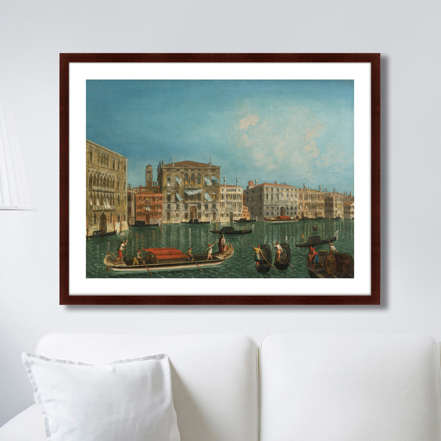 Картина Venice, Palazzo Foscari and Palazzo Balbi, 1735г. (79х100 см) фото