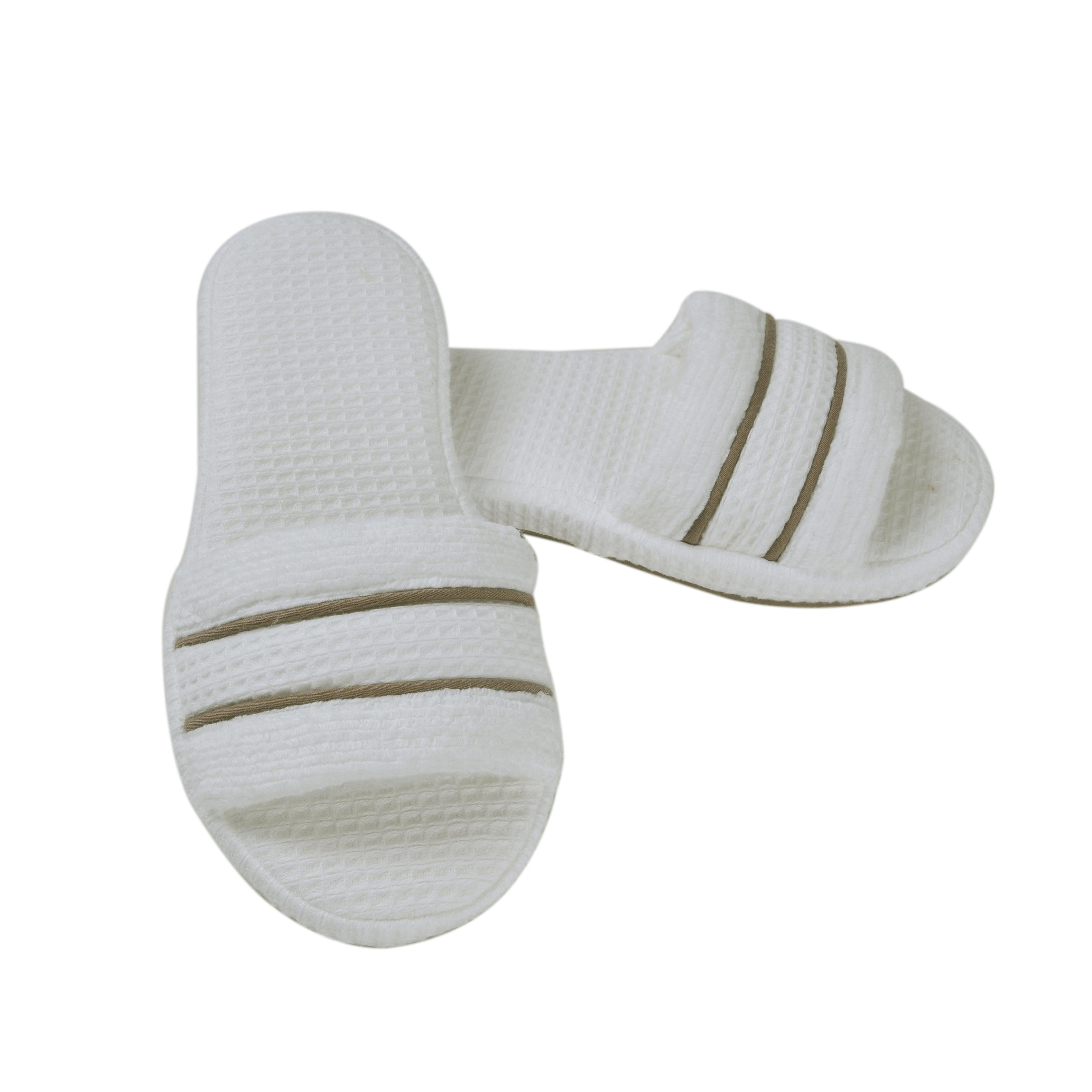 Тапочки Tosya Цвет: Белый, Коричневый (40-41) HAMAM ham436820