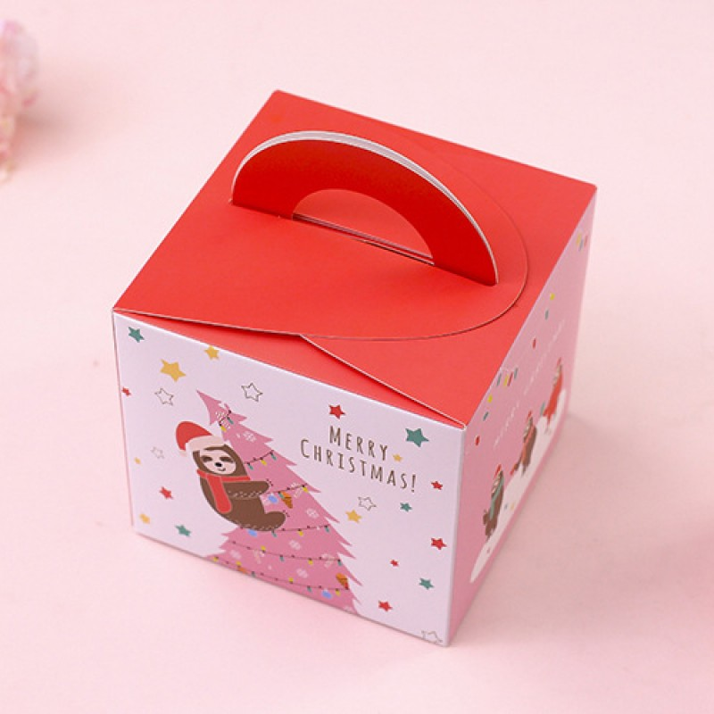 Подарочная упаковка Ленивцы Цвет: Красная (22х29 см) фото