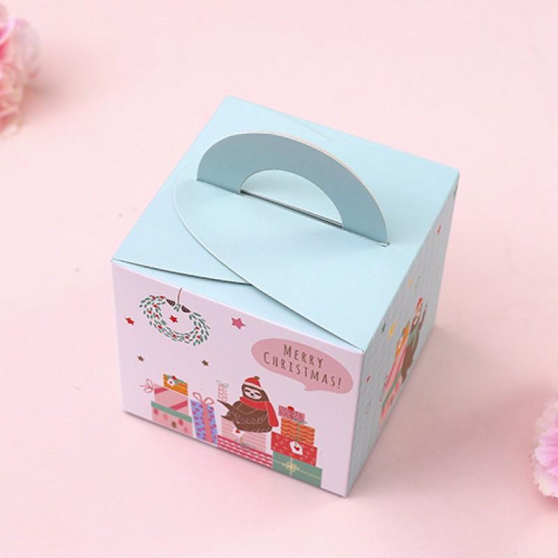 Подарочная упаковка Ленивцы Цвет: Голубая (22х29 см) фото