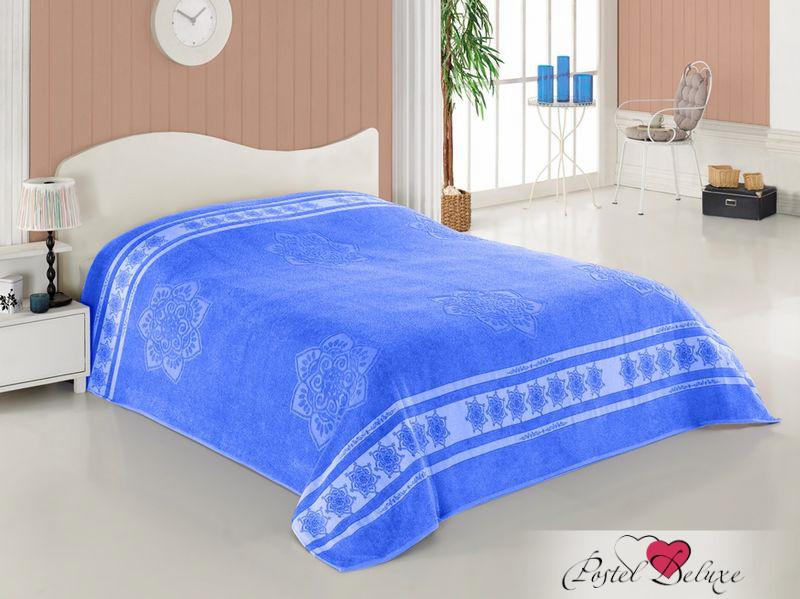 Купить Простыни Turkiz, Простыня Cotton Цвет: Голубой(200х220 см), Турция, Хлопковый велюр
