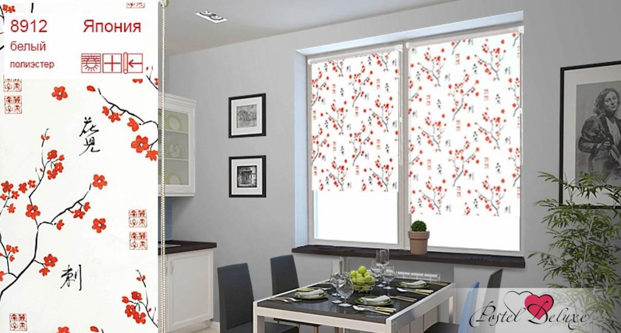 Римские и рулонные шторы Уют Рулонные шторы Япония Цвет: Белый