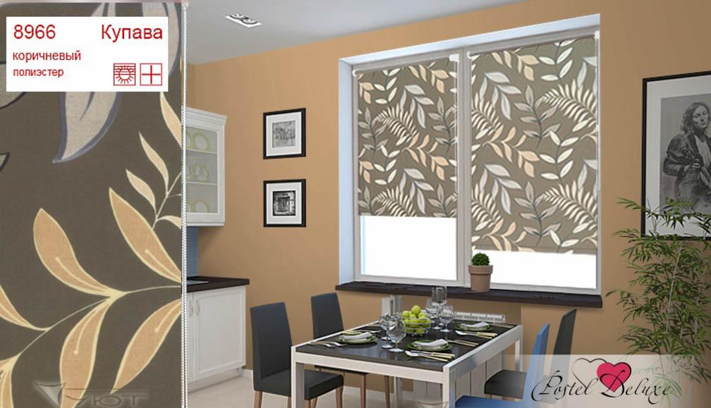Рулонные шторы Aureole Цвет: Коричневый фото