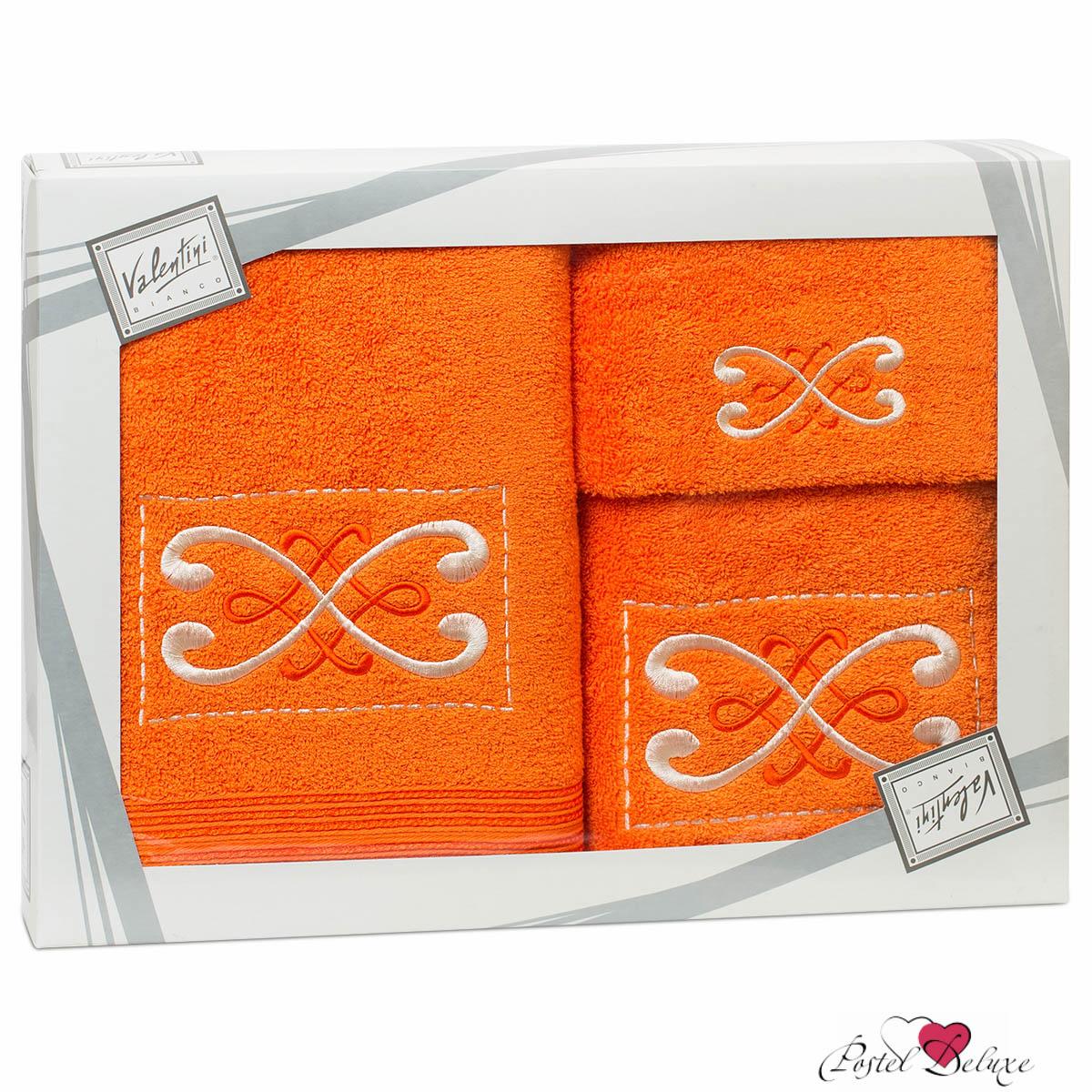 Купить Полотенца Valentini, Полотенце Fantasy Цвет: Оранжевый (Набор), Португалия, Махра