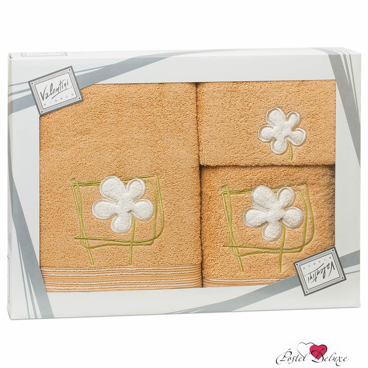 Полотенца Valentini Полотенце Flower Цвет: Бежевый (Набор)