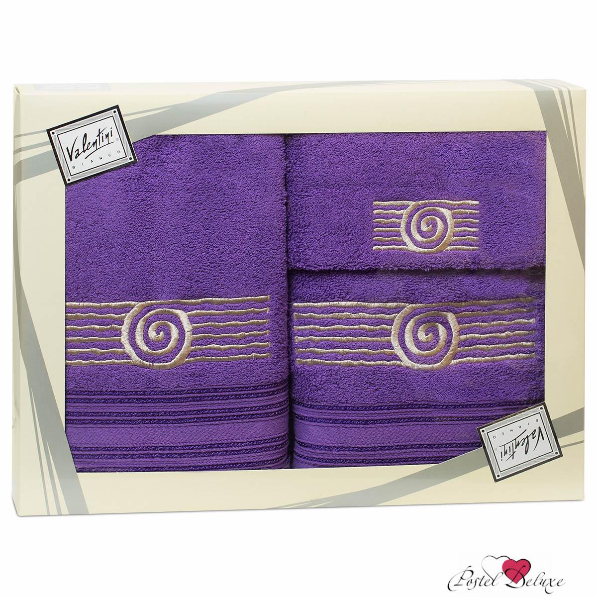 Купить Полотенца Valentini, Полотенце Sea Цвет: Сиреневый (Набор), Португалия, Махра
