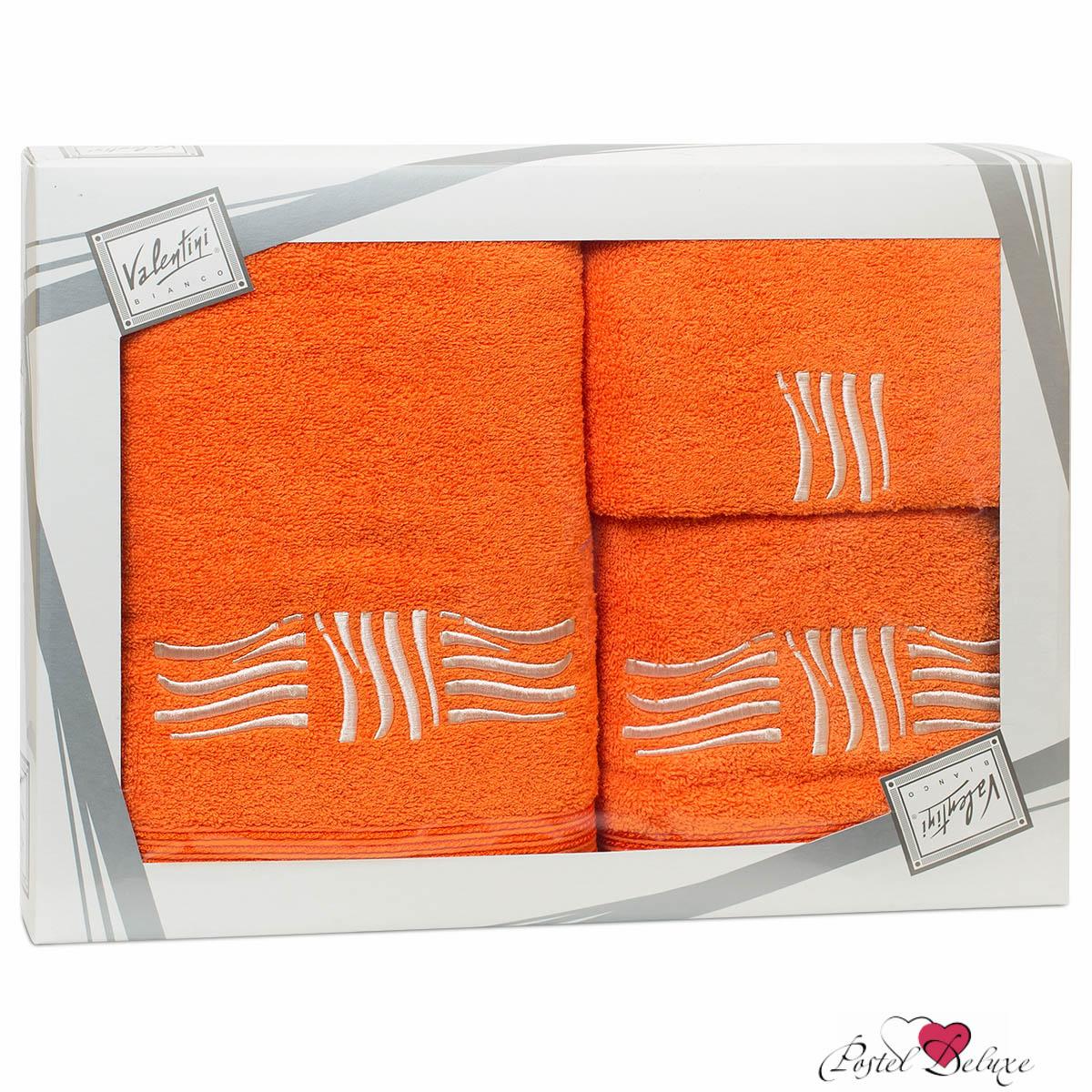 Купить Полотенца Valentini, Полотенце Sea Цвет: Оранжевый (Набор), Португалия, Махра