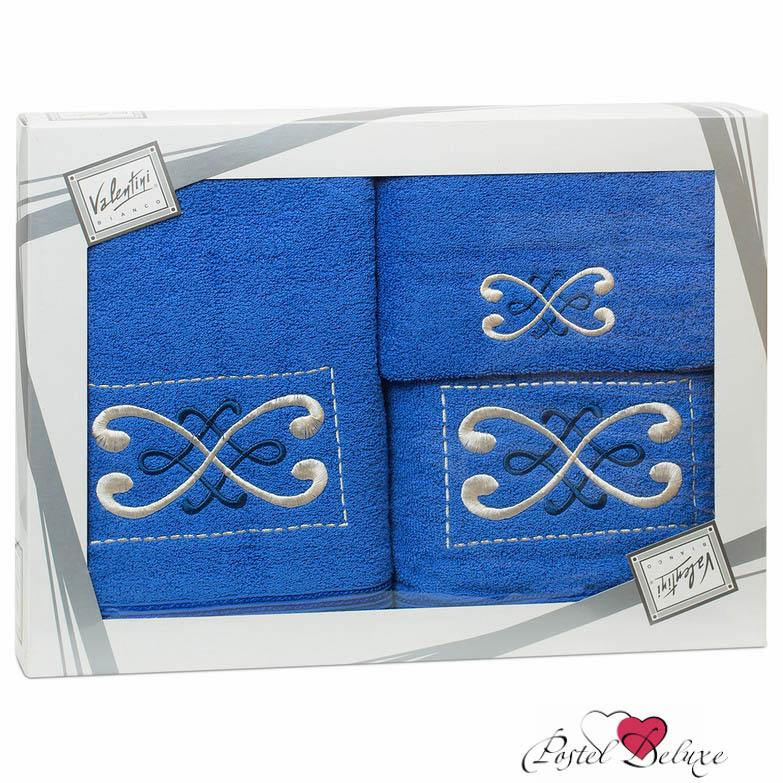 Купить Полотенца Valentini, Полотенце Fantasy Цвет: Синий (Набор), Португалия, Махра