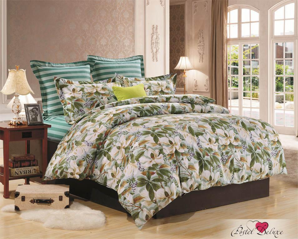 Купить Комплекты постельного белья Valtery, Постельное белье Evita(семейное), Китай, Зеленый, Хлопковый сатин