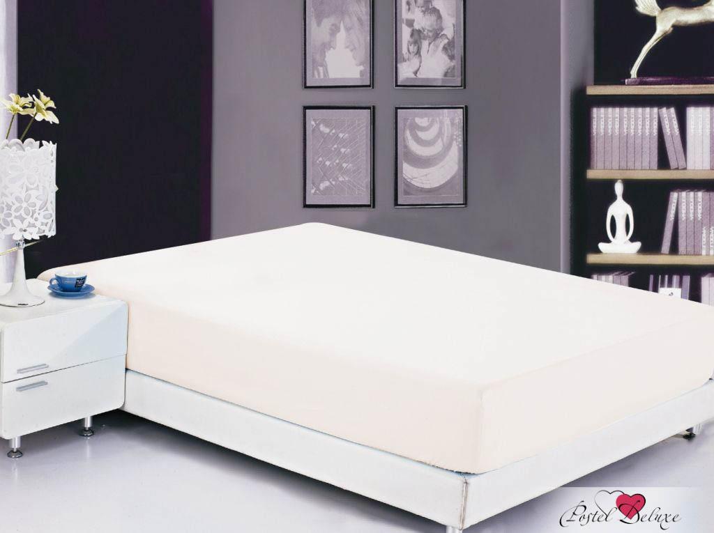 Купить Простыни Valtery, Простыня на резинке Bobbi Цвет: Белый (180х200 см), Китай, Хлопковый сатин