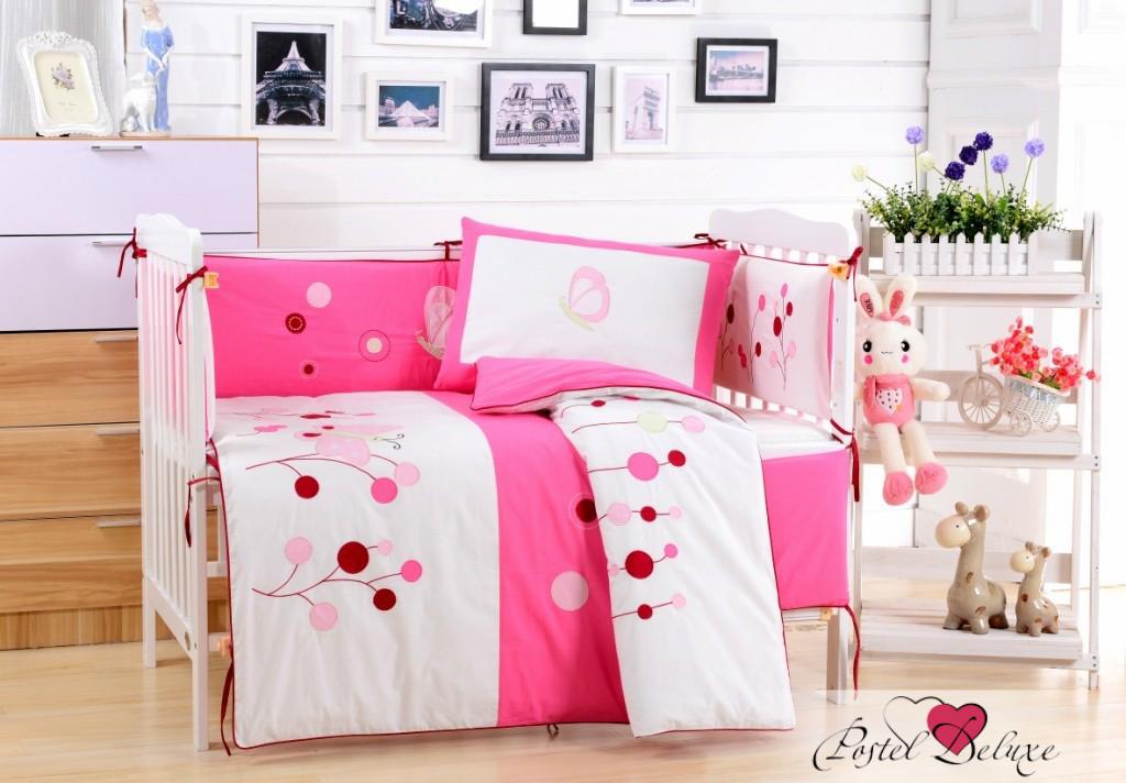 Купить Детское постельное белье Valtery, Постельное белье Lally (112х147 см), Китай, Белый, Розовый, Перкаль