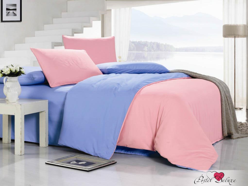 Купить Комплекты постельного белья Valtery, Постельное бельеWinifred(2 сп. евро), Китай, Розовый, Синий, Поликоттон