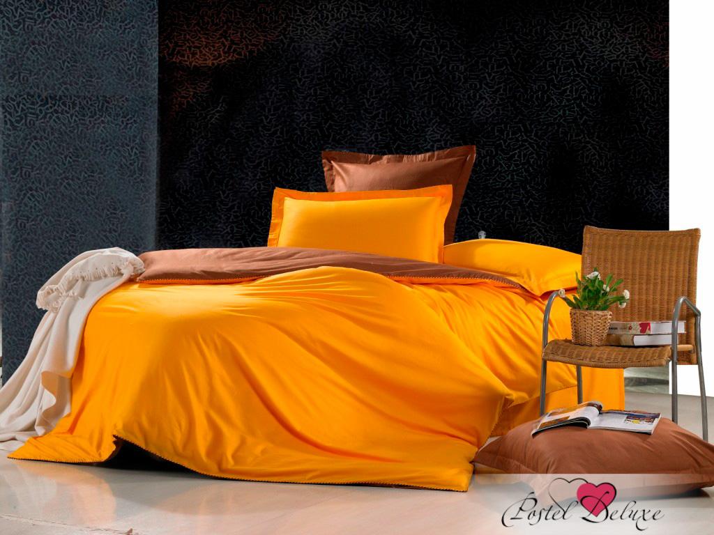 Купить Комплекты постельного белья Valtery, Постельное белье Nirvana (семейное), Китай, Коричневый, Оранжевый, Хлопковый сатин
