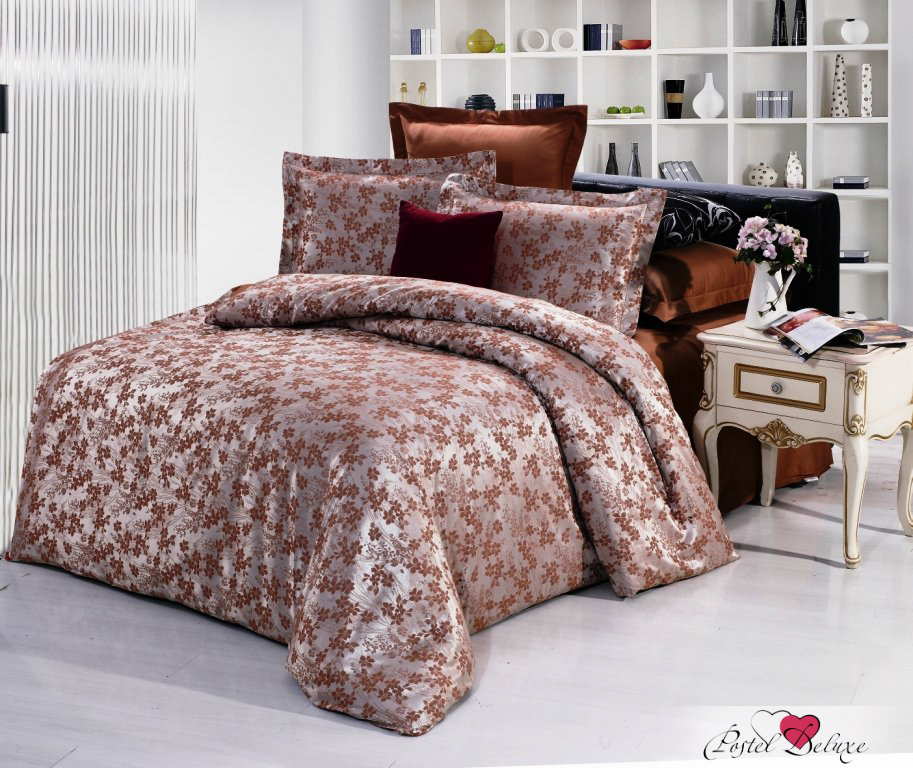Купить Комплекты постельного белья Valtery, Постельное белье Fanni (семейное), Китай, Розовый, Хлопковый сатин