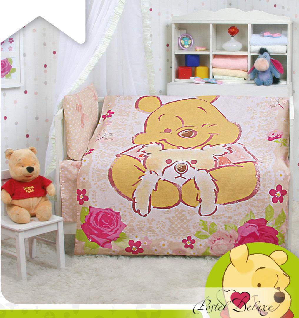 детское постельное белье Mona Liza   Винни Винтаж(110х145 см)