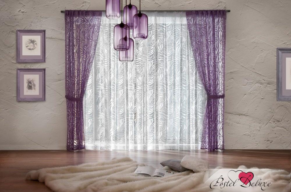 Купить Шторы Wisan, Классические шторы Prue Цвет: Сиреневый, Польша, Тюль, Портьерная ткань