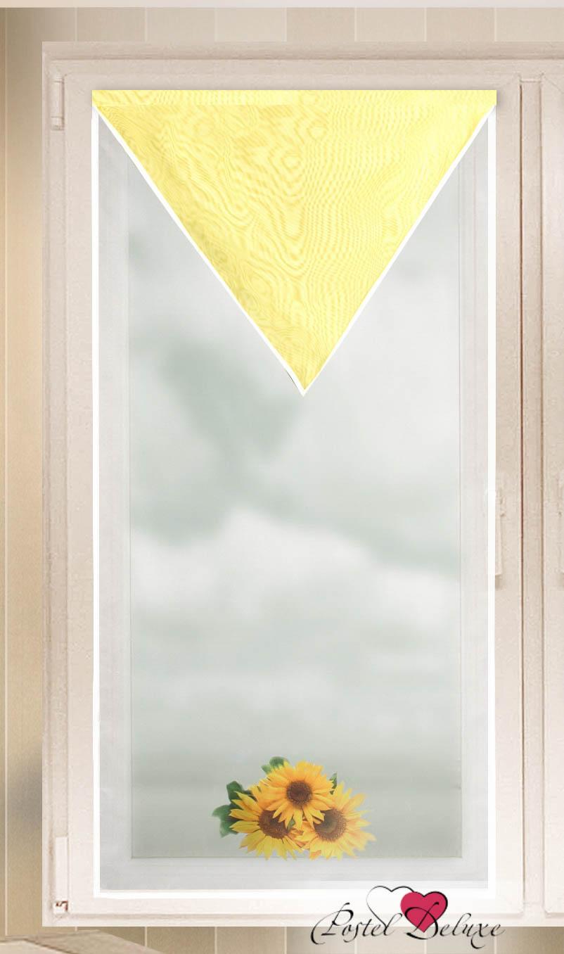 Купить Шторы Zlata Korunka, Японские шторы Manuela, Россия, Желтый, Вуаль