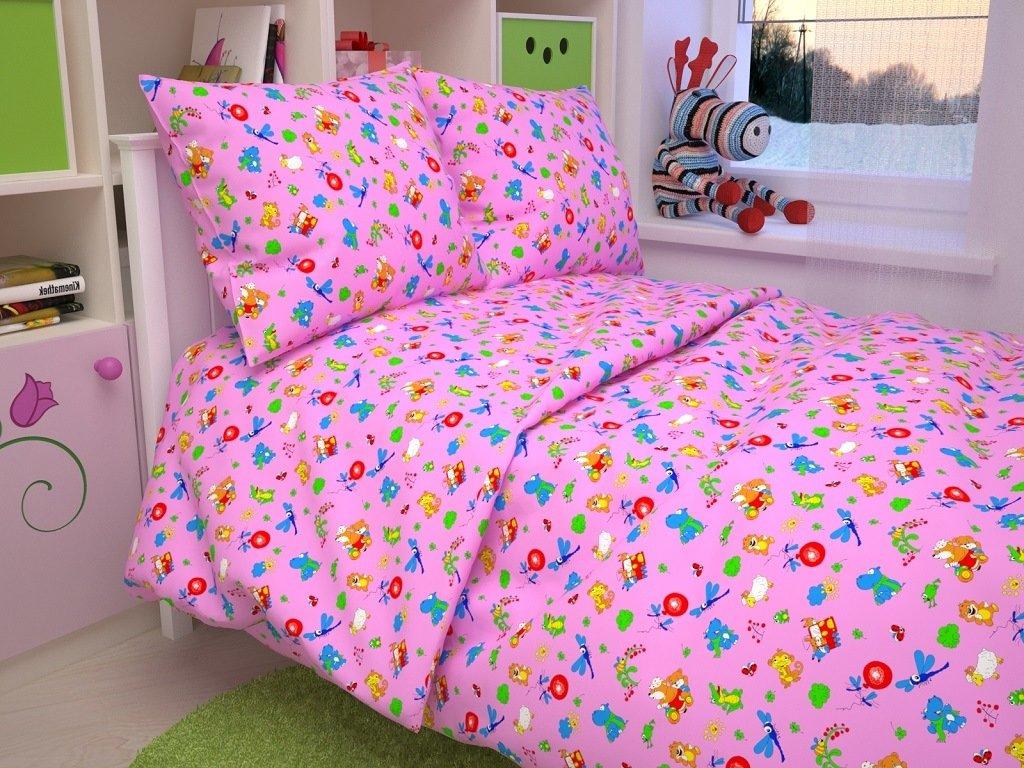 Детское Постельное белье Dorthy Цвет: Розовый (107х140 см) фото